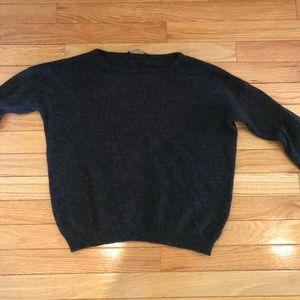 Brandy Melville Dark Grey Sweater